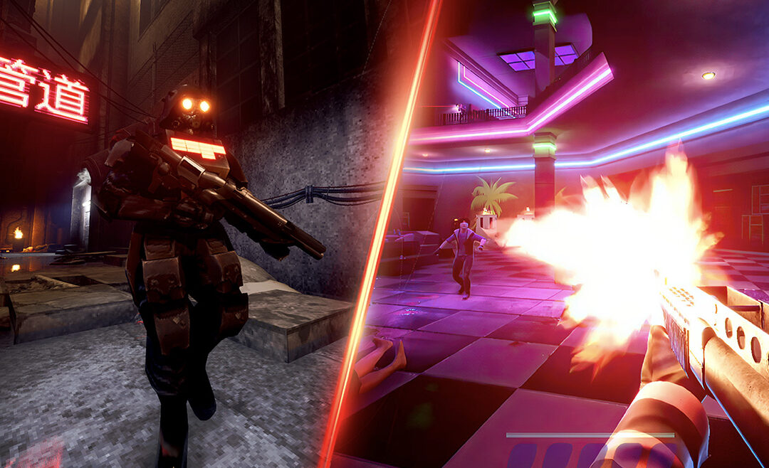 Rogue is Publishing Two New Twitch-Paced, Violence-Drenched First Person Shooters